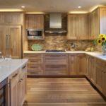 пример красивого стиля угловой кухни картинка