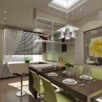 вариант красивого интерьера кухни картинка