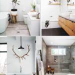 вариант необычного декора ванной комнаты картинка