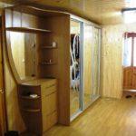 пример красивого интерьера коридора в частном доме фото