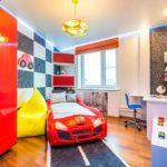 идея красивого интерьера детской комнаты картинка