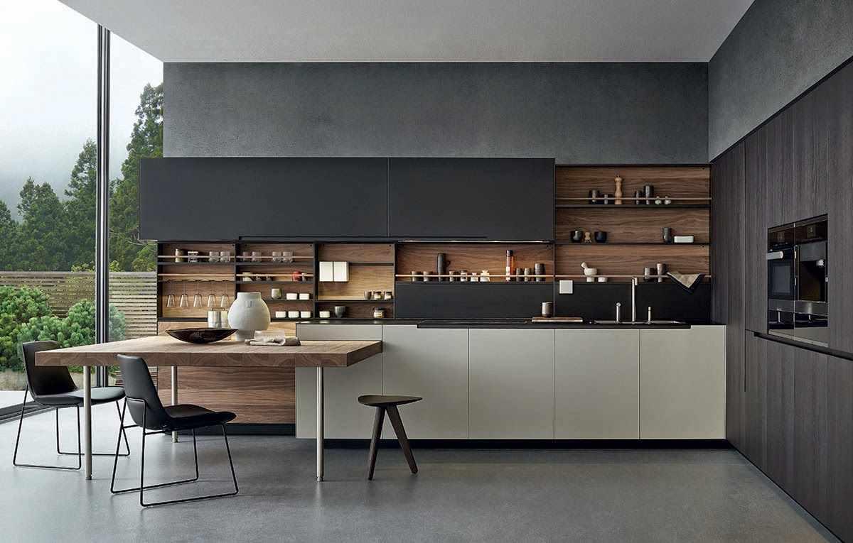 вариант красивого дизайна кухни