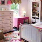 пример красивого стиля спальной комнаты для девочки фото