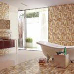 пример яркого декора ванной комнаты картинка