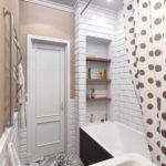 идея необычного интерьера ванной комнаты картинка