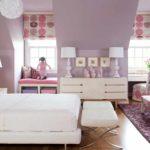 пример яркого дизайна спальни для девочки картинка