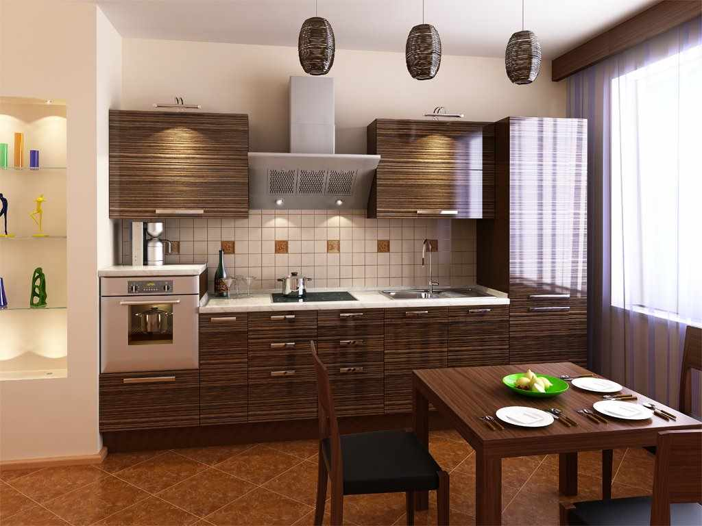 идея светлого декора кухни