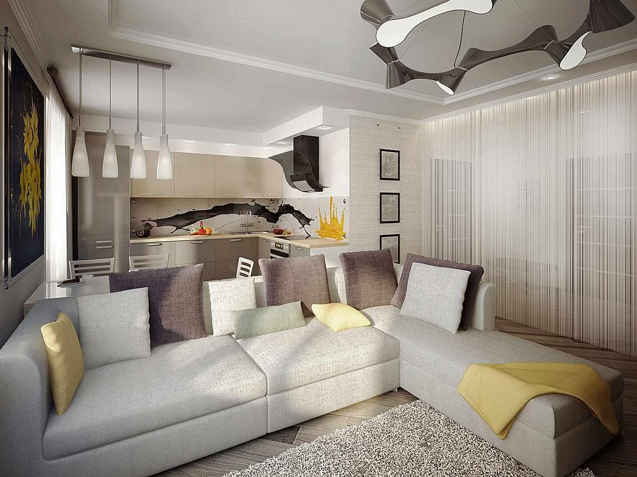 идея применения красивого декора гостиной комнаты в стиле минимализм