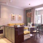вариант светлого стиля гостиной комнаты 25 кв.м картинка
