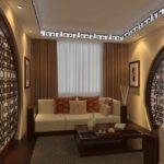идея светлого дизайна гостиной комнаты 19-20 кв.м фото