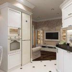пример яркого стиля гостиной комнаты 2018 фото