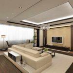 идея светлого дизайна гостиной комнаты 2018 фото