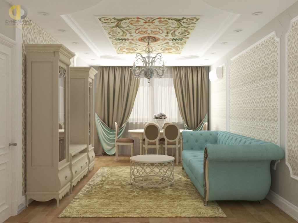 идея красивого дизайна гостиной комнаты 2018