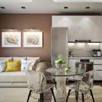 идея необычного стиля гостиной комнаты 25 кв.м фото