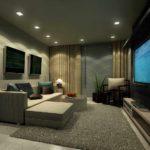 идея красивого стиля гостиной комнаты 16 кв.м фото