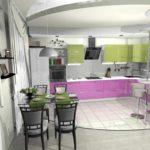пример красивого дизайна гостиной комнаты 25 кв.м фото