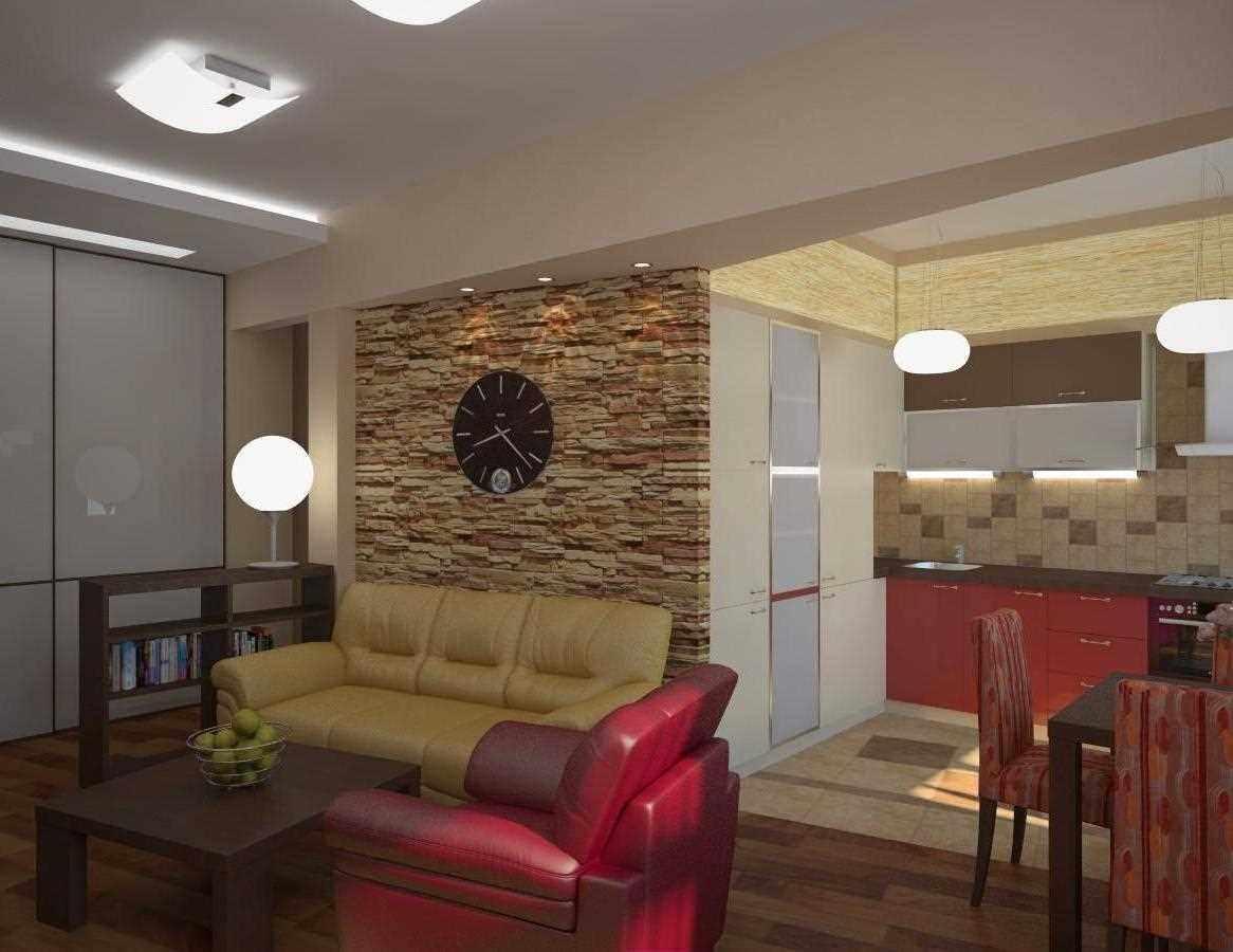 вариант светлого декора гостиной комнаты 25 кв.м