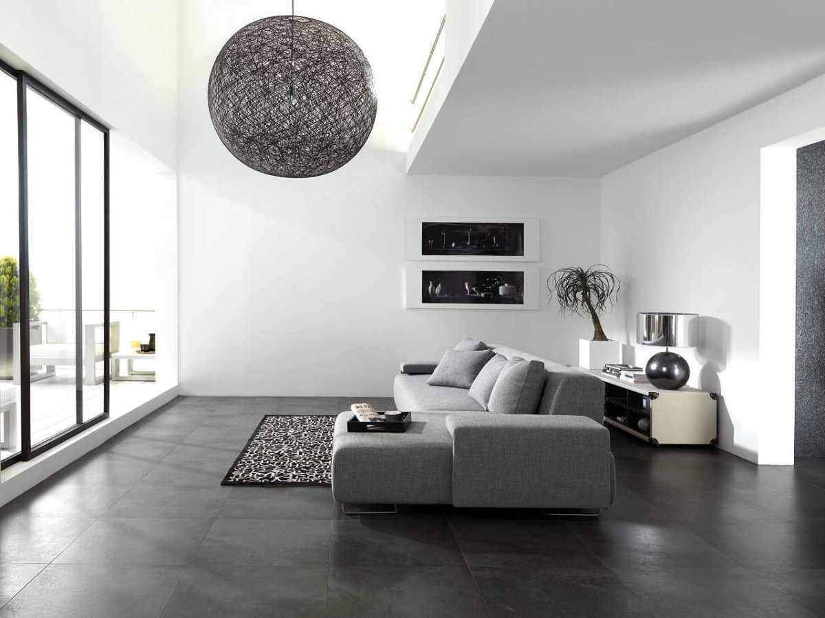 идея использования необычного декора гостиной комнаты в стиле минимализм
