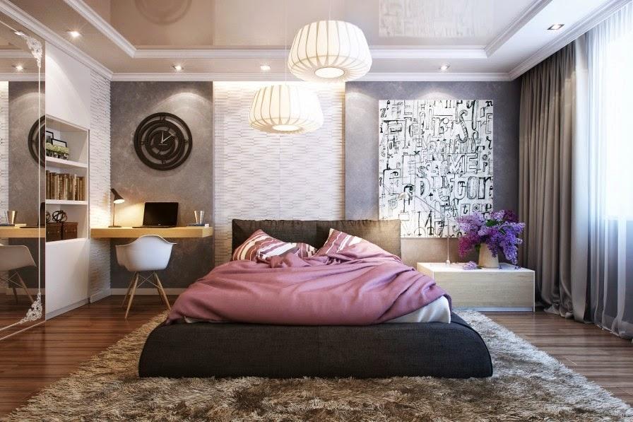 дизайн современной спальни для пары