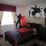 дизайн спальни в рок стиле