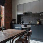 Оттенки серого цвета в дизайне кухни
