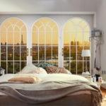 спальня 11 кв м декор фото