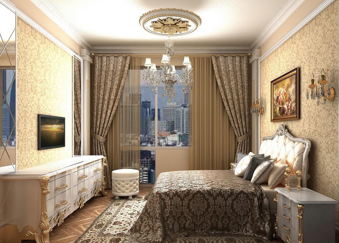 спальня 11 кв м фото варианты