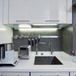 Подсветка кухонной мойки светодиодными светильниками