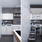 Встроенная посудомоечная машина под кухонной мойкой