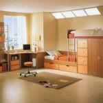 Проект современной комнаты для мальчика