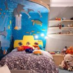 Оформление детской в морской стилистике