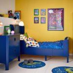 Синий цвет в интерьере детской