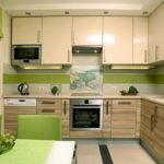 Зеленый цвет в оформлении кухонного пространства