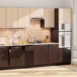 Дизайн кухни с линейным гарнитуром