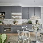 Оттенки серого цвета в дизайне кухонного пространства