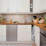 Мебель для кухни с угловой планировкой