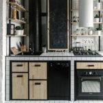 Дизайн маленькой кухне в стиле лофт