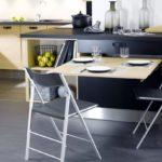 Использование складной мебели в дизайне кухни