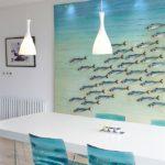 Морская тема в оформлении кухни