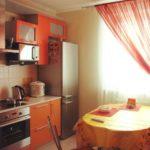 Фото реальной кухни средних размеров