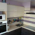 Мойка в углу кухонного гарнитура