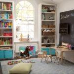 Оформление игровой зоны в комнате мальчика и девочки
