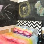 Грифельные доски на стенах детской