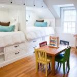 Удобные выдвижные ящики под кроватями