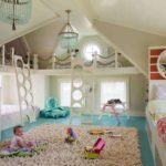 Использование мансарды частного дома для детской