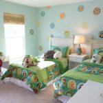 Оформление детской спальни в нежных тонах