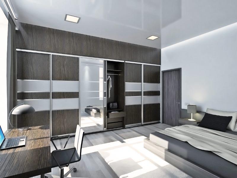 Дизайн комнаты площадью в 18 кв метров в стиле хай-тек
