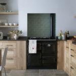 Коричневый цвет в оформлении кухни