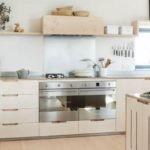 Кухонный гарнитур с открытыми полками