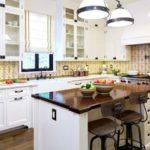 Организация освещения кухни в частном доме